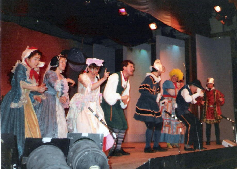 1990 - Principals on Stage